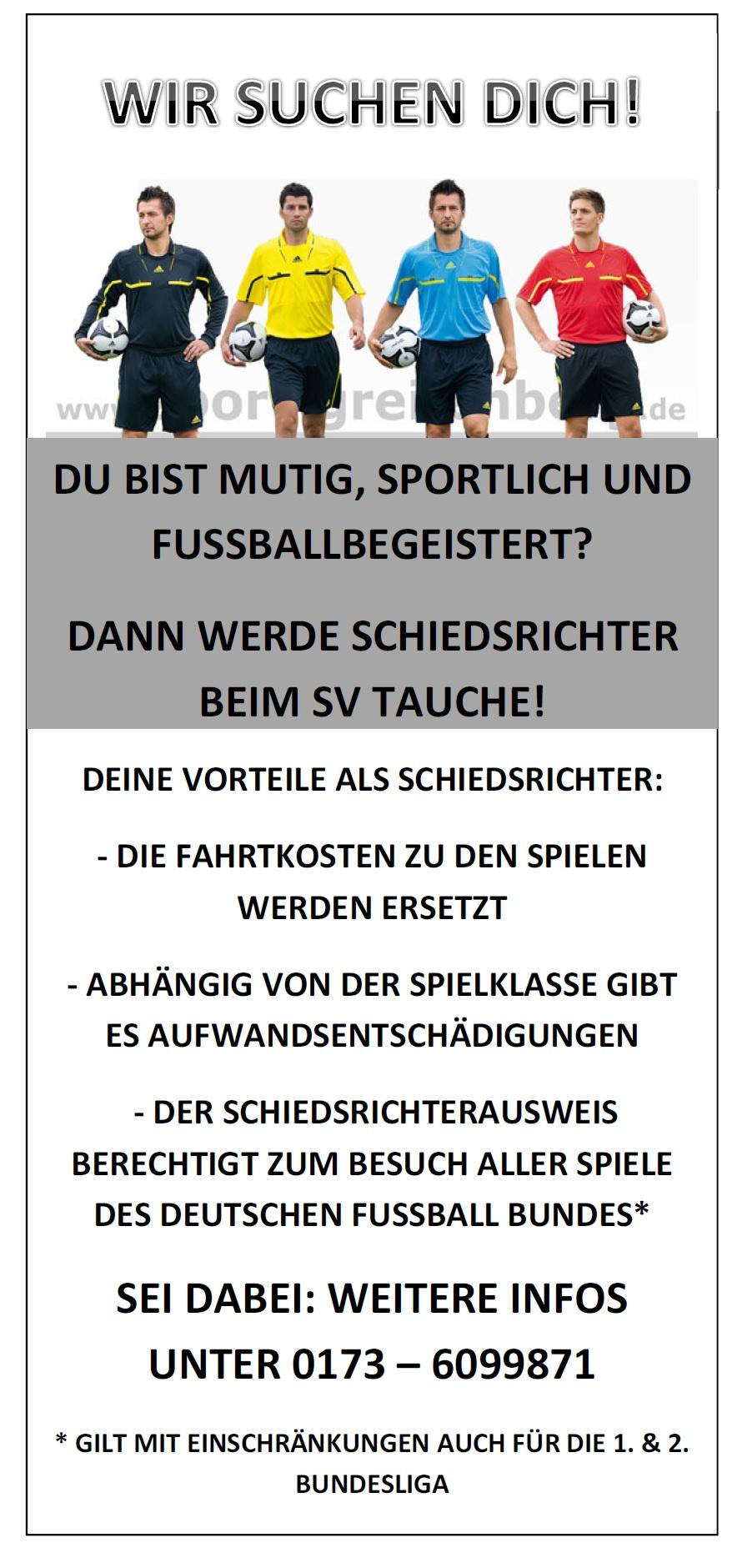 Schiedsrichter gesucht //